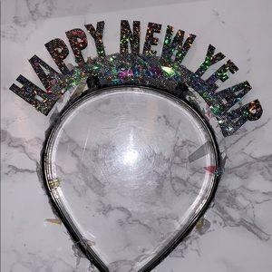 Accessories - Handmade Happy New Year NYE hairband crown
